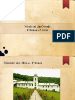 Mânăstiri din Oltenia - Frasinei si Ostrov