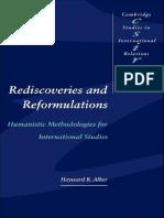 Alker, HR - Rediscoveries and Reformulations, Humanistic Methodologies for International Studies.pdf