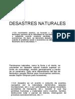 Desastres Naturales Expo