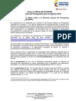 Anexo 2 CIRCULAR ANTEPROYECTO PGN 2018
