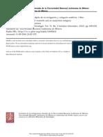 El neopentecostalismo como objeto de investigación y categoría analítica