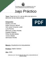 """Paper - Grupo 5 - Primer año """"B"""" - 2020 - TP Grupal_ Papel de la UC y de los MHz del reloj en la ejecución de las instrucciones.docx"""
