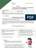 5° básico, Guía N° 2