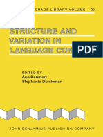 [Creole language library 29] Ana Deumert, Stephanie Durrleman - Structure and variation in language contact (2006, J. Benjamins) - libgen.lc