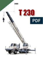 30 Ton Terex T 230 Specs and Load Chart rev 5_06_DL