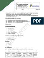 I16-GO-P03-LB INSTALACIÓN Y RETIRO RETENES SAPOS OTRs