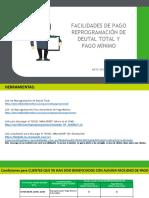 Reprogramación de Deuda total y Pago Mínimo (A0905V1)