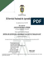 SISTEMA DE GESTION DE LA SEGURIDAD Y SALUD EN EL TRABAJO SG-SST