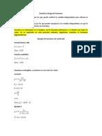 Dominio y Rango de Funciones G11
