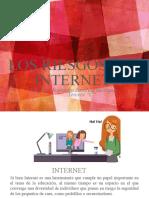 los riesgos del  internet