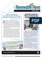 Renewable News - Winter 2011 Edition