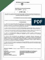 Esp. Edificación Sostenible - Res 16645 de 2013 - RRC