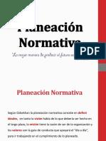 Planeación Normativa Conceptos Fundamentales
