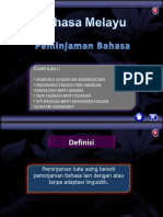 Pinjaman Bahasa Asing Dalam Bahasa Melayu