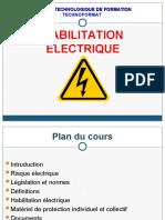 Habilitation électrique - TechnoFormat