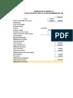 Tarea 5.1 Balance General y Estado de Resultado