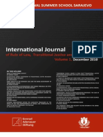 INTERNATIONAL JOURNAL OF RULE OF LAW, TRANSITIONAL JUSTICE AND HUMAN RIGHTS