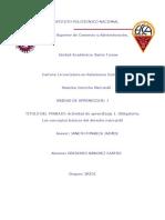 Sanchez_Castro_Gregorio_Actividad de aprendizaje 1. Obligatoria_Los Conceptos Basicos del Derecho Mercantil