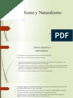 Realismo y Naturalismo literatura