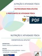 AULA NUTRIÇÃO ESPORTES MARINGÁ 2012
