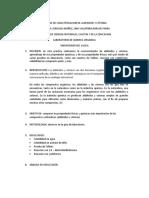 PRUEBAS DE CARACTERIZACION DE ALDEHIDOS Y CETONAS