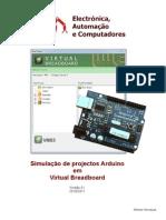 Arduino - Simulação em Virtual Breadboard