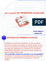 BOTIQUIN DE PRINEROS AUXILIOS