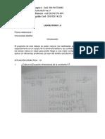 Laboratorio 1.0 - ley de torricelli