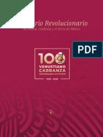 Recetario Revolucionario de Puebla, Coahuila y el Norte de México