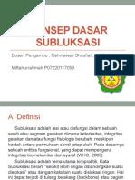 subluksasi