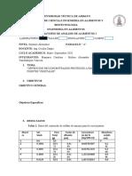 Analisis Informe Purificacion
