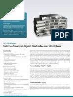 Datasheet DGS-1510 Series A1 (ESP)