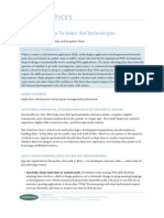 Ajax or Flex - How to Select RIA Technologies