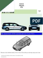 VOLVO V70 2004 User Manual