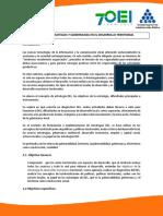 Unidad III Estrategias y Gobernanza para el Desarrollo Territorial