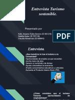 Entrevista turismo sostenible.pptx