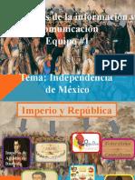La Independencia de México TIC