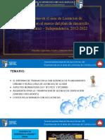 EXPERIENCIAS EN EL AREA DE LICENCIAS DE CONSTRUCCION.ppt