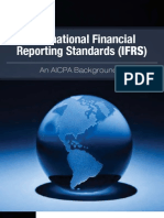 IFRS Backgrounder AICPA
