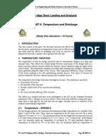 M54 Unit 6 Temperature & Shrinkage