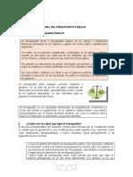 monografia del sistema nacional de presupuesto publico- PERÚ