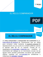 EL RELOJ COMPARADOR