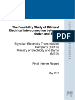 Electrical Interconnection between Sudan and Egypt - Final Interim Report