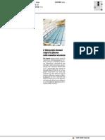 L'Università riapre la piscina nella massima sicurezza - Il Resto del Carlino del 7 giugno2020