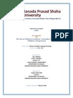 The Direct Method & Grammar Translation Method  (Midterm Assignment).docx