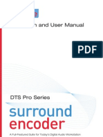 Dts Pro Series Surround Manual