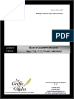 Guide d'accompagnement android