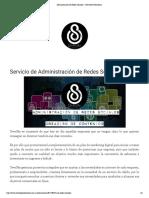 Administración de Redes Sociales - OverSky Productions