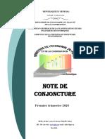 NOTE DE CONJONCTURE 2020 SENEGAL DPEE