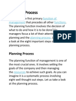 Lecture 5_4 Planning Process